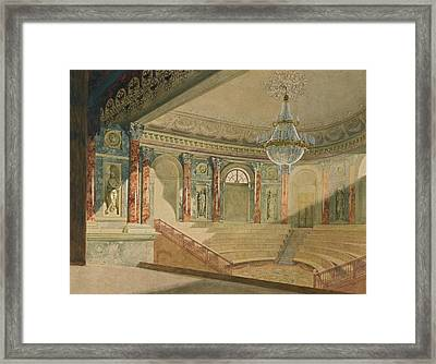 The Hermitage Theatre Framed Print by MotionAge Designs