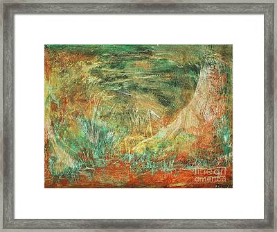 The Hidden Forest Framed Print by Reb Frost