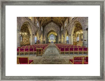 The Hidden Gem V2 Framed Print by Ian Mitchell