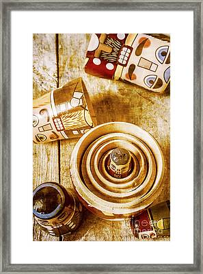 The Hidden Hand At Play Framed Print by Jorgo Photography - Wall Art Gallery