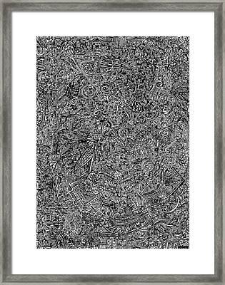 The Hidden Tapestry Framed Print by Carey Davis