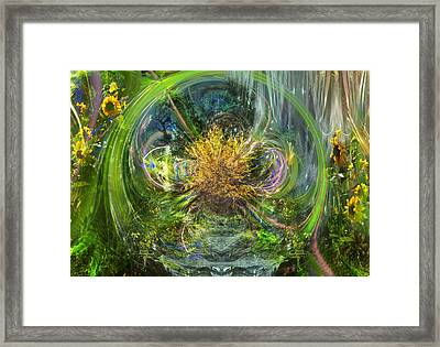 The Hidden Way Framed Print