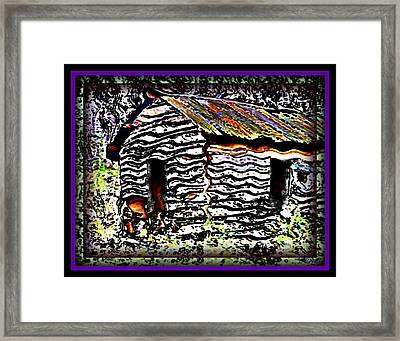 The Hideaway Framed Print by Leslie Revels Andrews
