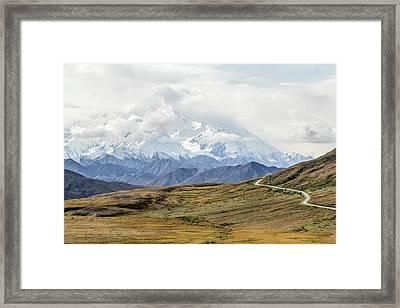 The High One - Denali Framed Print