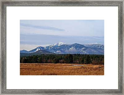 The High Peaks Framed Print by Heather Allen