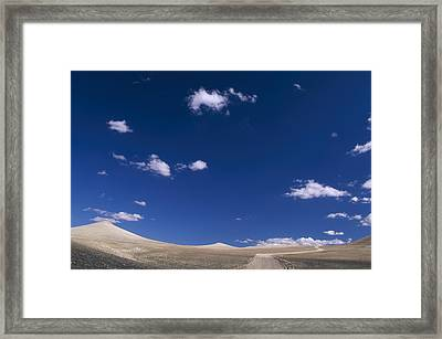 The High Road - White Mountains Framed Print by Soli Deo Gloria Wilderness And Wildlife Photography