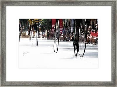 The High Rollers  Framed Print by Steven Digman