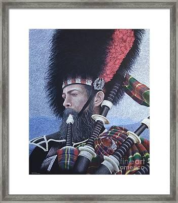 The Highlander Framed Print