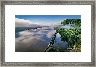 The Highlands Looking South Framed Print