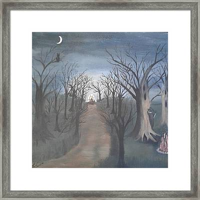 The Highwayman #1 Framed Print by Lori Lafevers