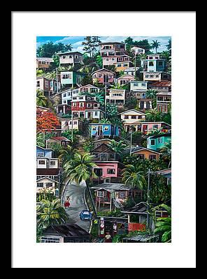 Trinidad Paintings Framed Prints