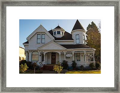 The Hill House Museum Framed Print by Tikvah's Hope