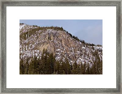 Framed Print featuring the photograph The Hills by Josef Pittner