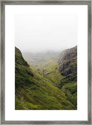 Framed Print featuring the photograph The Hills Of Glencoe by Christi Kraft