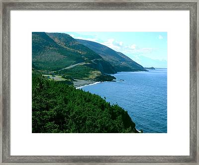The Hills Of Home Framed Print