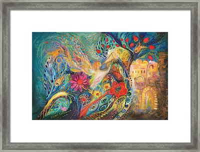 The Hills Of Jaffo Framed Print by Elena Kotliarker