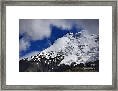 The Himalayas Tibet Yantra.lv 2016  Framed Print by Raimond Klavins
