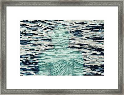The Hindrance Of Restlessness And Worry Framed Print by Allan OMarra