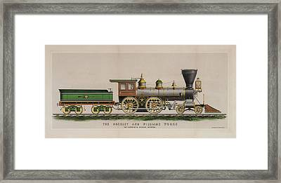 The Hinkley And Williams Works Framed Print by MotionAge Designs