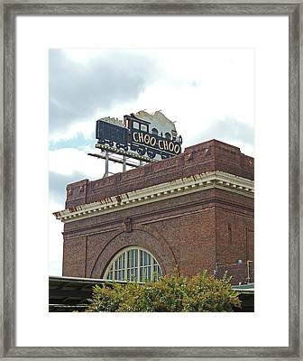The Historic Chattanooga Choo Choo Sign Framed Print by Marian Bell