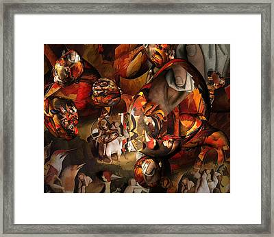 The History Or Art Framed Print by Peter Ciccariello