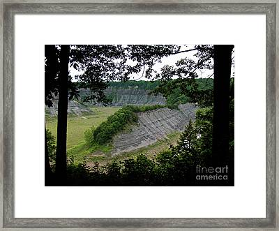 The Hogs Back Framed Print by Deborah Johnson