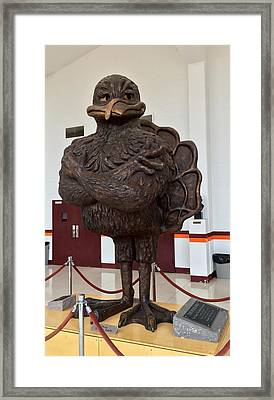 The Hokie Bird Framed Print