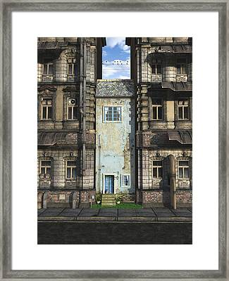 The Holdout Framed Print by Cynthia Decker