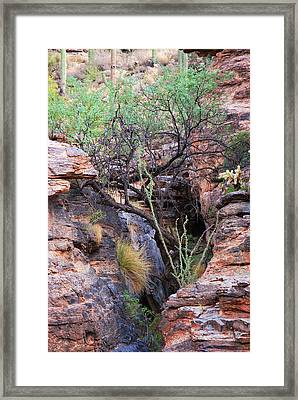The Hole - Mount Lemmon Framed Print