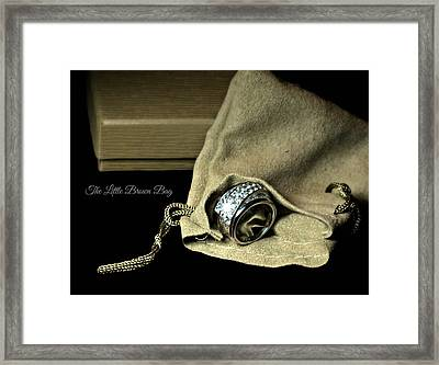 The Holiday Gift Framed Print by Diana Angstadt