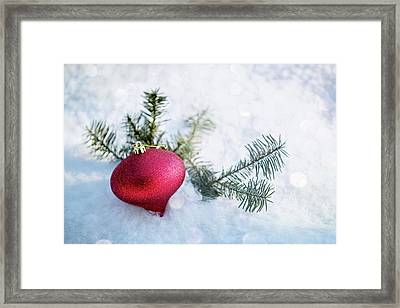 Framed Print featuring the photograph The Holidays by Rebecca Cozart