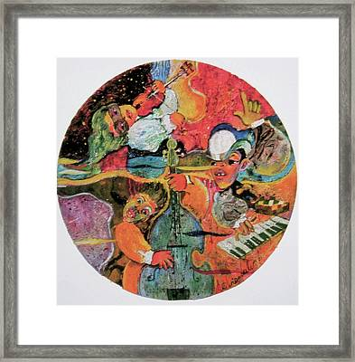 The Holland Jazz Trio Framed Print by Lee Ransaw