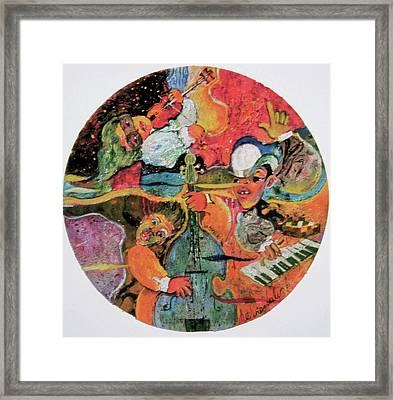 The Holland Jazz Trio Framed Print