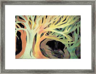 The Hollow Framed Print