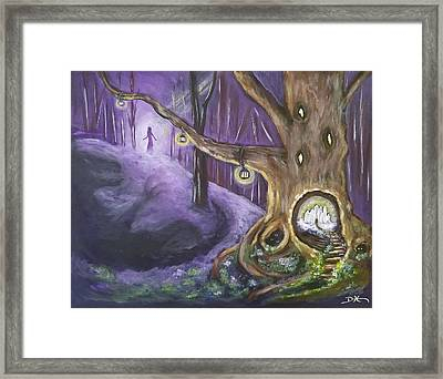 The Hollow Tree Framed Print