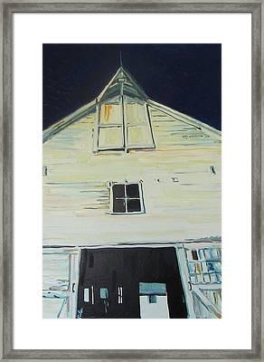 The Holy Barn Framed Print