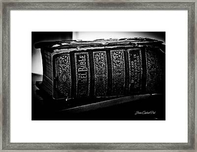 The Holy Bible Framed Print