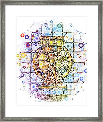 The Holy Chalice Framed Print