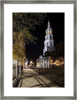 Framed Print featuring the photograph St. Michael's Episcopal Church by Carl Amoth