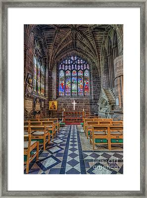 The Holy Cross Framed Print by Ian Mitchell