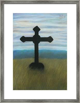 The Holy Cross Framed Print
