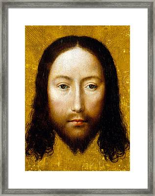 The Holy Face Framed Print