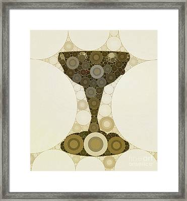 The Holy Grail By Mb Framed Print