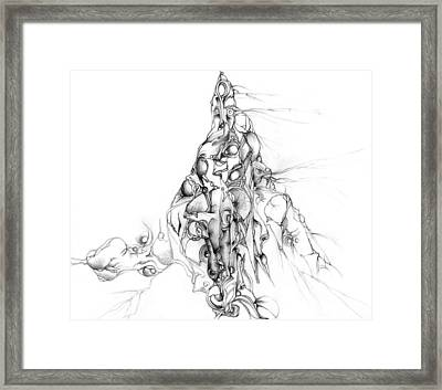 The Holy Mountain Framed Print by Bodhi