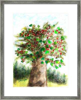 The Holy Oak Tree Framed Print