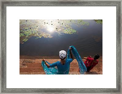 The Holy Pond Framed Print