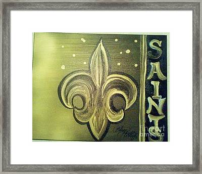 The Holy Saints Framed Print by Talisa Hartley