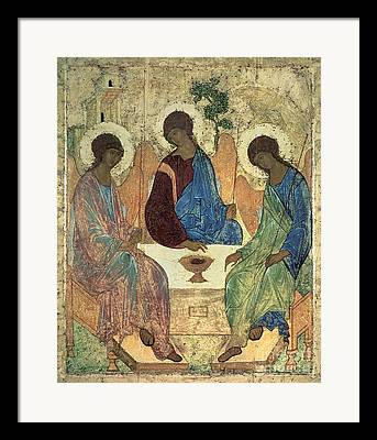 Holy Trinity Icon Framed Prints