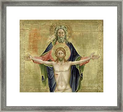 The Holy Trinity Framed Print by Nicoletto Semitecolo