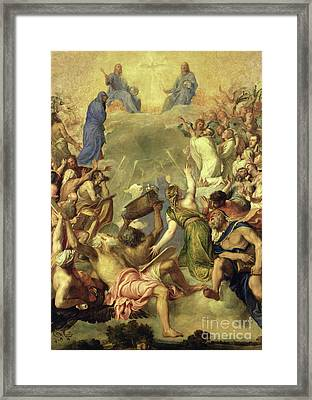 The Holy Trinity Framed Print by Titian